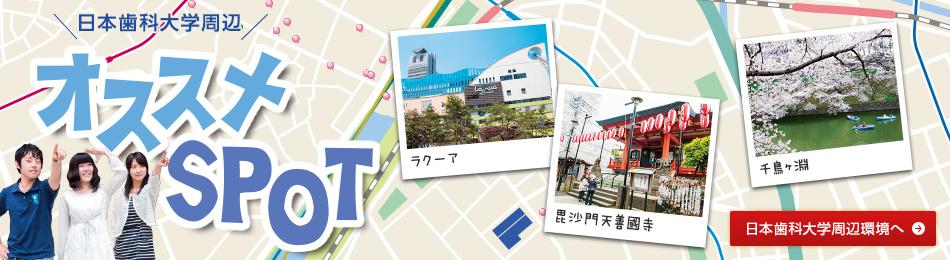 日本歯科大学周辺 オススメSPOT
